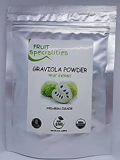 Graviola (Soursop) Fruit Powder, All-Natural Pure Graviola Fruit Powder, Annona Muricata Guanabana (3.52 oz)
