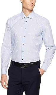 Calvin Klein Men Slim Fit Print Stripe Shirt