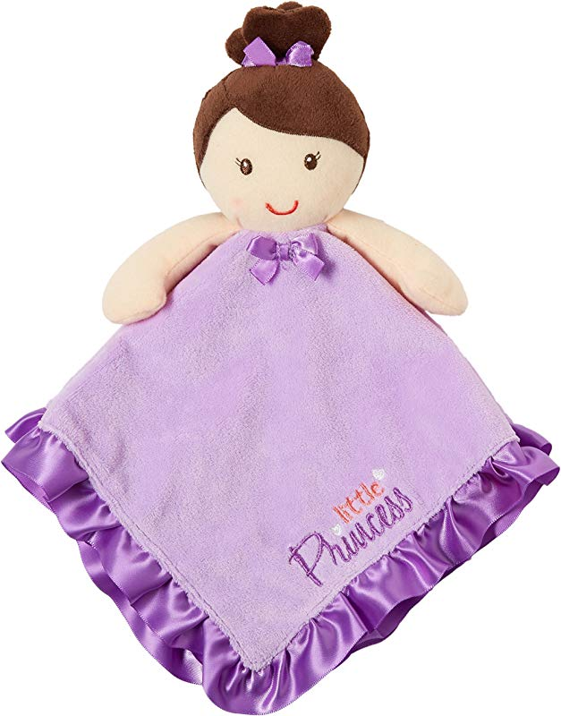 Baby Starters Snuggle Buddy Little Princess Jill Purple