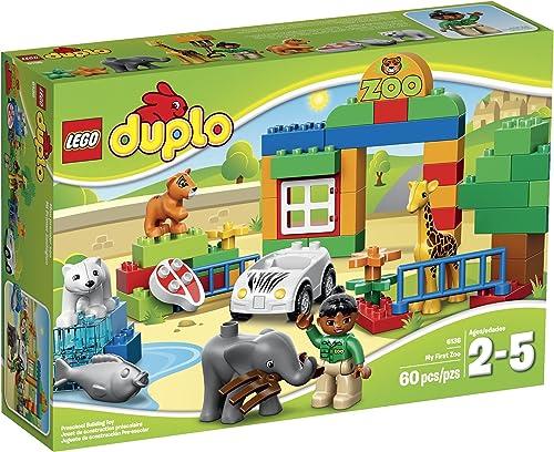 bienvenido a comprar LEGO DUPLO Town 6136 My First Zoo Building Set Set Set by LEGO  más vendido