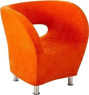 Christopher Knight Home Salazar Modern Design Accent Chair, Orange