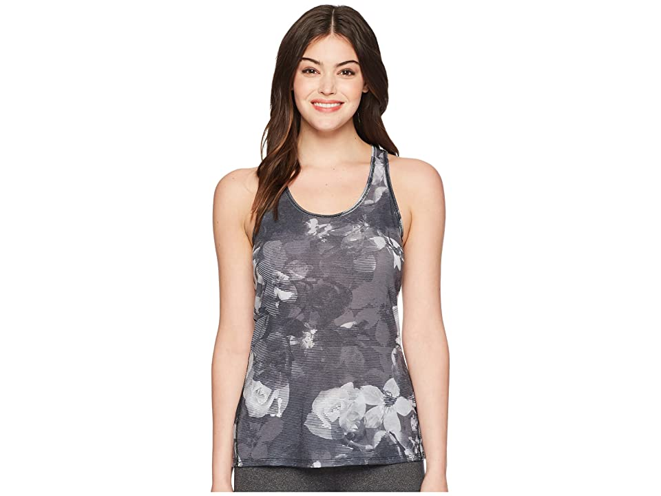The North Face Workout Racerback Tank Top (TNF Black Botanical Print) Women