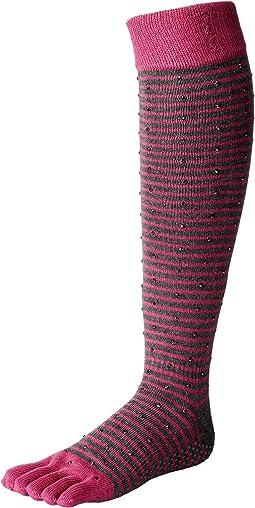 toesox Scrunch Knee High Full Toe w/ Grip
