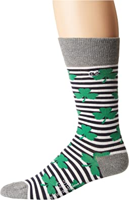 Vineyard Vines Clover Stripe Socks