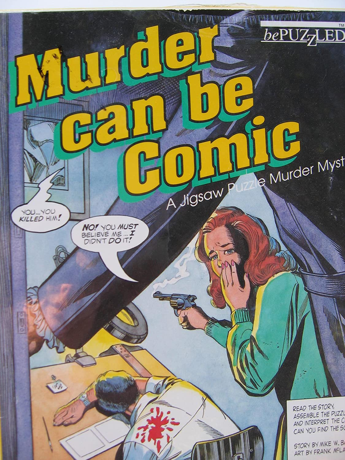 MURDER CAN BE COMIC  A Jigsaw Puzzle Murder Mystery