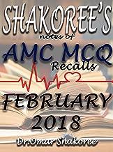 SHAKOREE'S NOTES OF AMC MCQ Recalls FEBRUARY 2018 (AMC Recalls collection Book 2018002)
