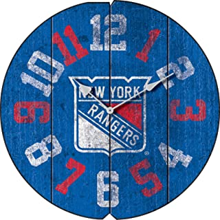beb816917 Imperial Officially Licensed NHL Merchandise  Vintage Round Clock