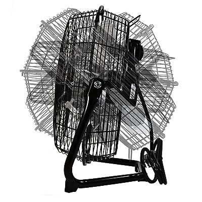 Comfort Zone CZHV12B High Velocity Cradle Fan
