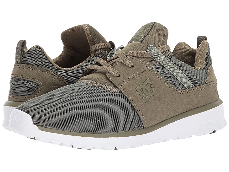 DC Heathrow (Olive Night/White) Skate Shoes