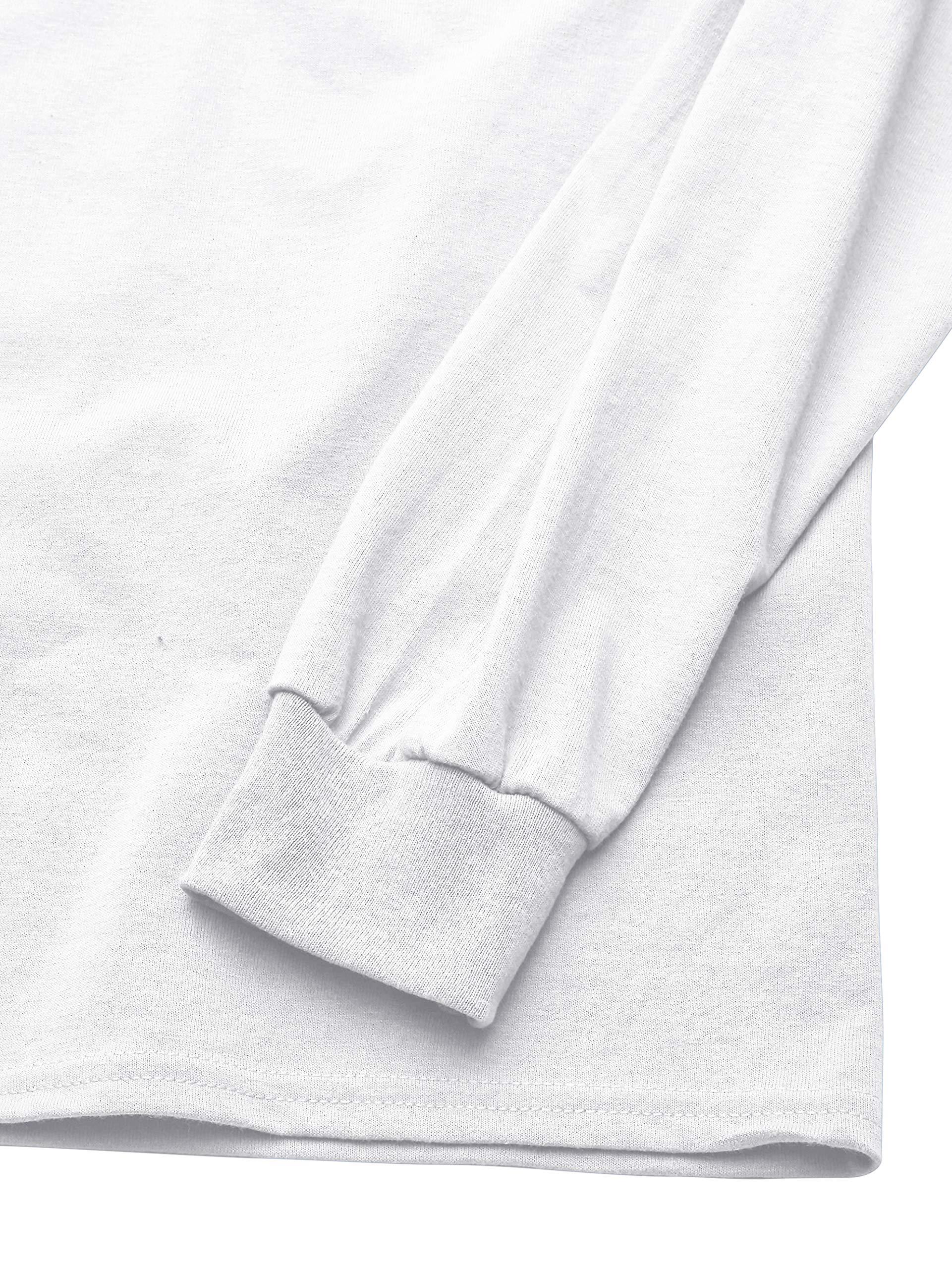 Men's DryBlend Long Sleeve T-Shirt, Style G8400, 2-Pack