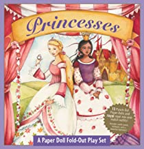 Princesses: A Book and Paper Doll Fold-Out Play Set