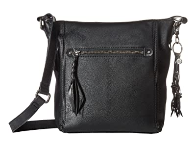 The Sak Ashland Crossbody (Black) Cross Body Handbags
