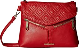 Diamond Double Quilted Crossbody