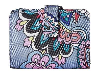 Vera Bradley Lighten Up RFID Small Wallet (Kona Paisley) Wallet Handbags