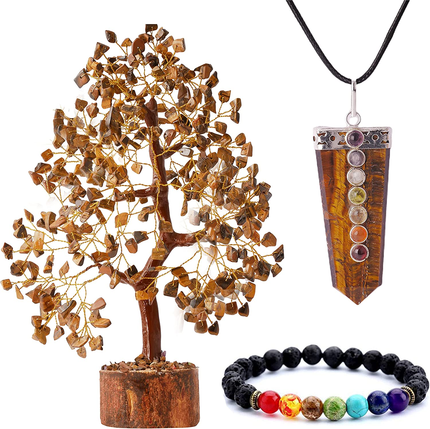 QUIPSA Tiger Cash special price Eye Kansas City Mall Chakra Tree of Luck Décor Life Good Home Office