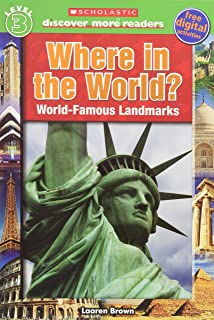 Scholastic Discover More Reader Level 3: Where in the World? (Scholastic Discover More Readers)