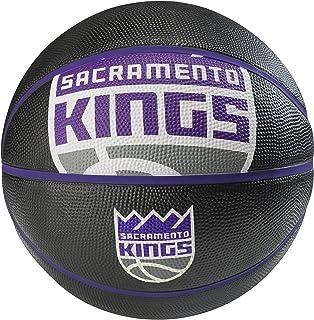 NBA Sacramento Kings Spaldingteam Logo, Black, 29.5