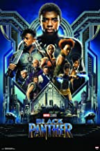 Trends International MCU - Black Panther - Group One Sheet Wall Poster, 22.375