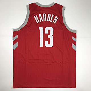 Unsigned James Harden Houston Red Custom Stitched Basketball Jersey Size Men's XL New No Brands/Logos