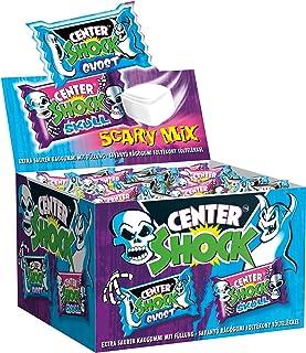 Center Shock Scary Mix | Box mit 100 Kaugummis | Extra-sauer | Zufallsgeschmack