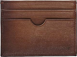 DAVIDOFF 4CCVenice - Tarjetero, color marrón