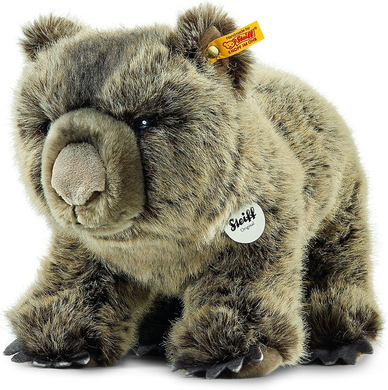venderse como panqueques Steiff Steiff Steiff womby Wombat de Peluche (gris Beige)  tienda de descuento