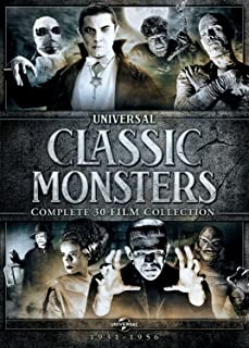 Universal Classic Monsters: Complete 30-Film Collection (Dracula / Frankenstein / Bride of Frankenstein / Wolf Man / The Mummy / and more)