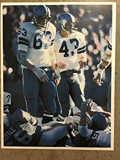 Dallas Cowboys Larry Cole #63 & Cliff Harris #43 8x10 Unsigned Photo (Ready For Signatures!)