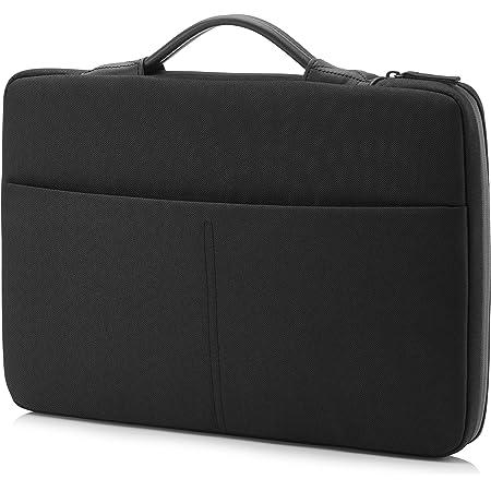 """HP - PC Envy Urban Sleeve per Notebook fino a 15.6"""", Vano Imbottito, Tasca Ottimale per Bloccare i Lettori RFID, Tessuti e Cerniere Resistenti, Tessuto Impermeabile, Nero"""