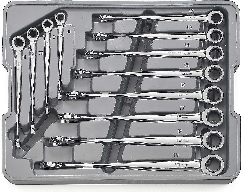 GearWrench 85888 12-teiliges Set Metrisches x-beam Kombination Ratschenschlüssel B000NIAKGI   Moderner Modus