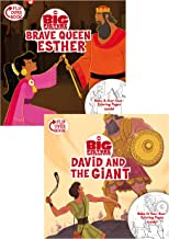 Brave Queen Esther/David and the Giant Flip-Over Book (One Big Story)