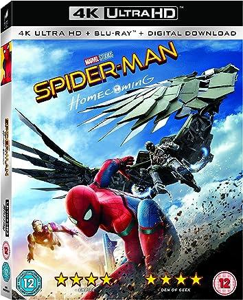 スパイダーマン ホームカミング [4K UHD + Blu-ray UHDのみ日本語有り リージョンフリー](Import版)