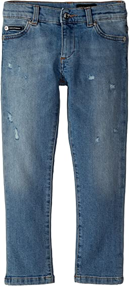 Dolce & Gabbana Kids - Five-Pocket Trousers (Toddler/Little Kids)
