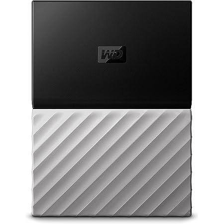 WD 4TB My Passport Ultra Portable External Hard Drive - USB 3.0 - Black-Gray - WDBFKT0040BGY-WESN (Old Generation)