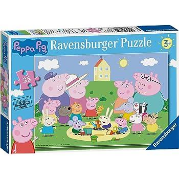 Ravensburger Peppa Pig - Fun in the Sun 35pc Jigsaw Puzzle