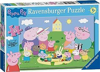Ravensburger 08632 Puzzle Peppa Pig, Puzzle 35 Piezas, Rompecabezas para Niños y Niñas, Edad Recomandada 5+