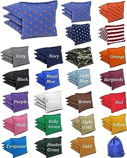 Free Donkey Sports 8 ACA Regulation Cornhole Bags.Corn-Filled 25+ Colors