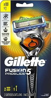 Gillette Fusion5 ProGlide Men's Razor Handle + 2 Blade Refills