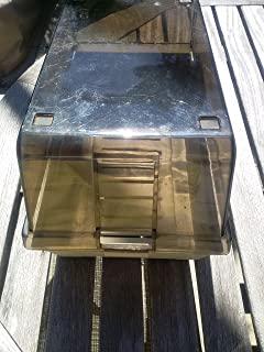 Longform: Vintage 1980s Floppy Disk 5 1/4 5.25 Storage Case Data-Case Hinged Plastic Holder