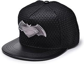 6a6daf66315 REINDEAR Batman V Superman Metal Logo Cap Hip-hop Snapback Hat US Seller