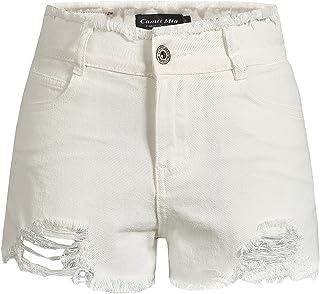 588d963e5db59f Amazon.fr : Jeans Déchiré Femme - Shorts et bermudas / Femme : Vêtements