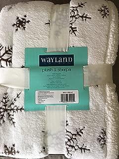 Wayland Plush & Sherpa Throw