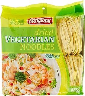 Sing Long Dried Vegetarian Noodle Large, 500 g