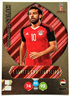 Panini Adrenalyn XL World Cup 2018 Russia - Salah Egypt card limited Edition