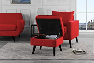 Amazoncom Red Chairs Living Room Furniture Home Kitchen