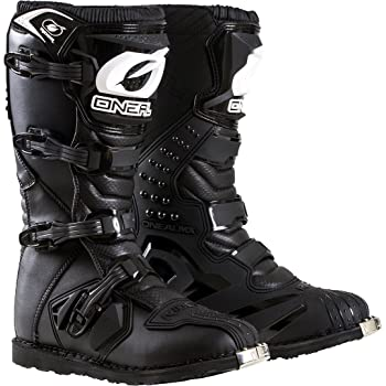 O'Neal Men's New Logo Rider Boot (Black, Size 9)