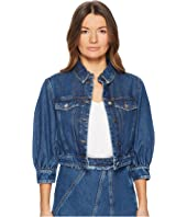 Sportmax - Agente Denim Puff Sleeve Jacket