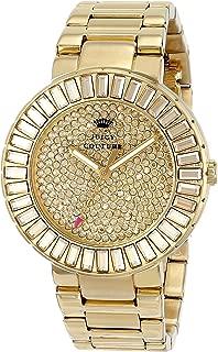 Juicy Couture Women's 1901178 Grove Analog Display Quartz Gold Watch