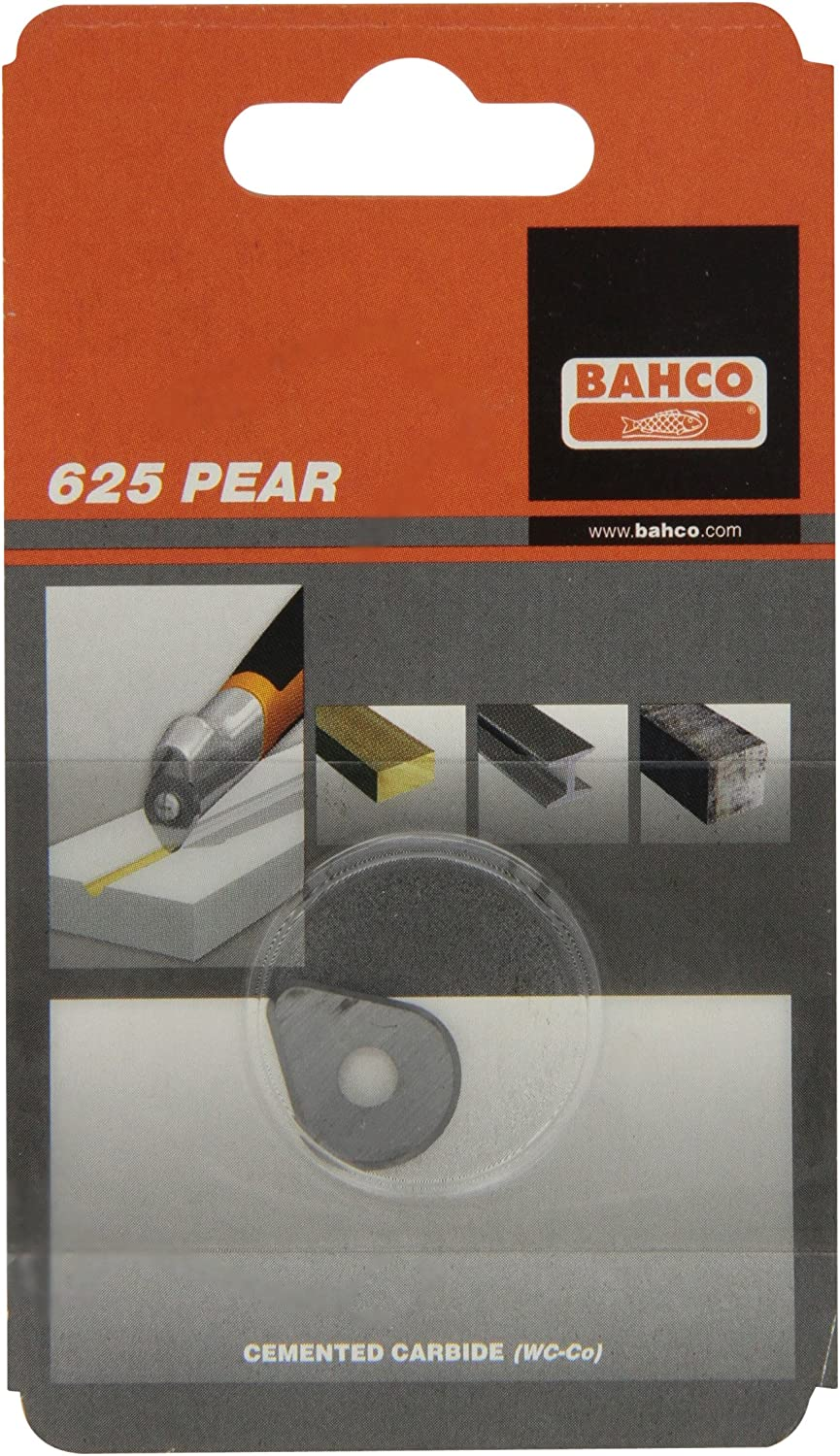 PEAR CARBIDE SCRAPER BLADE REPLACEMENT TIP WOOD PAINT CONCRETE BAHCO 625