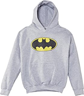 DC Comics Boys Official Batman Logo Crackle